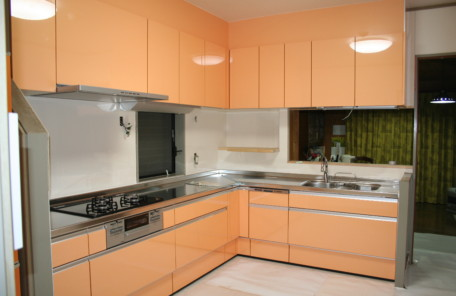 熊本装新 施工実績 キッチン改修